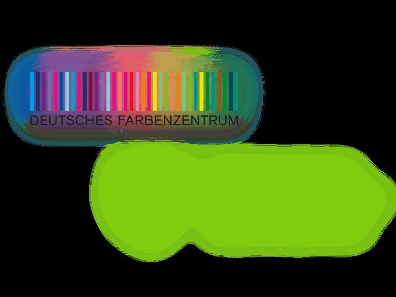 Logo Deutesch Farbenzentrum und Bergische Universität Wuppertal