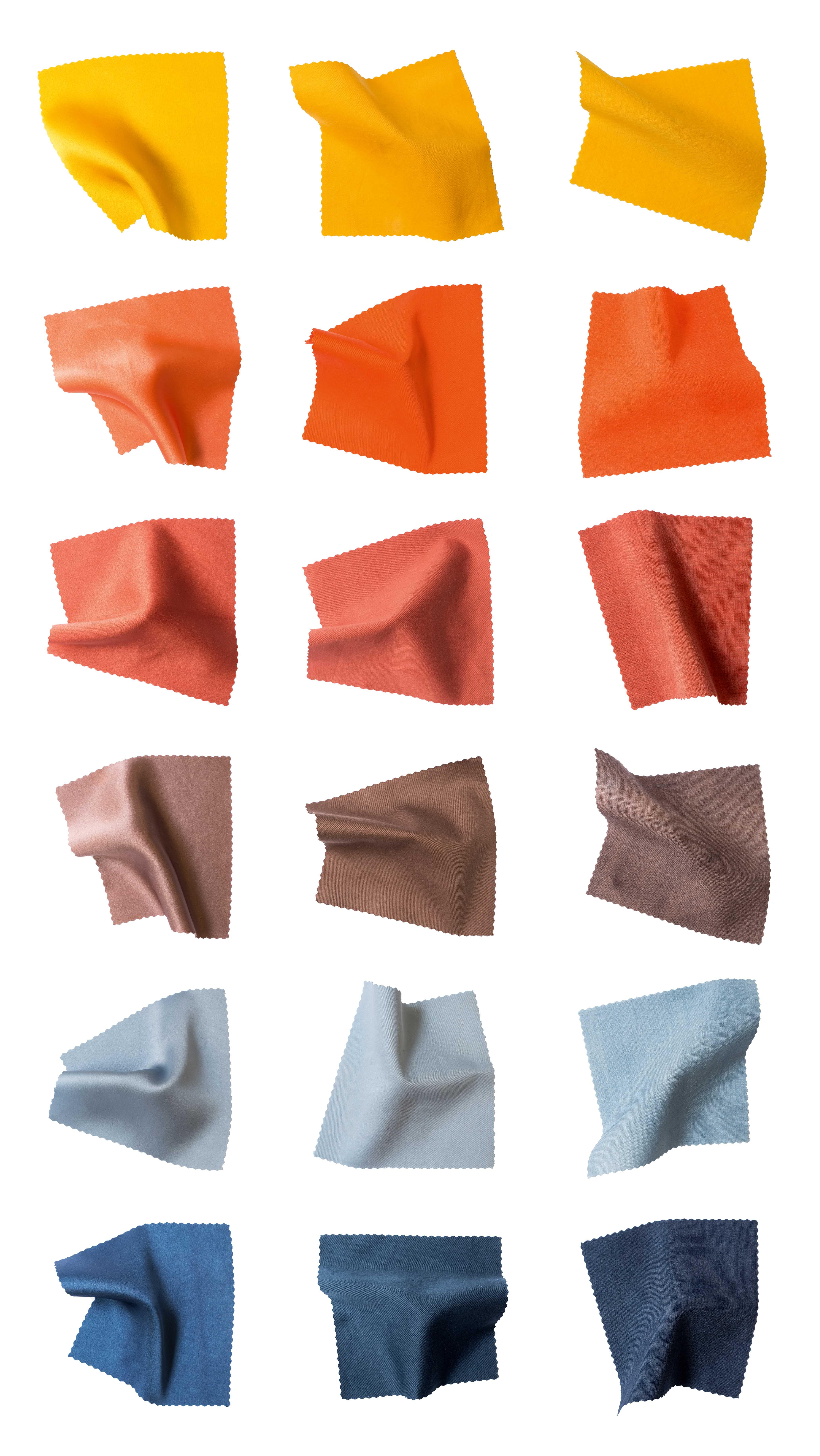 Privat: Colorcontex – Zusammenhänge zwischen Farbe und textilem Material